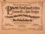 Illustrated sample book & price list of Palm's patent transfer letters : ornaments & trade...