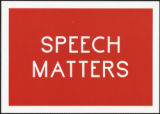 Speech matters : the Danish Pavilion : 54th International Art Exhibition : la Biennale di Venezia...